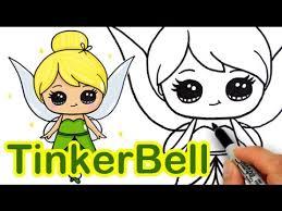 draw disney tinker bell fairy step step cute