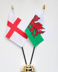 england u0026 wales friendship table flag