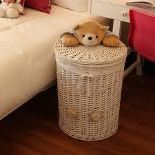Round Laundry Hamper by Aliexpress Com Buy Woven Wicker Baskets Round Laundry Hamper