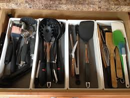 ocdelightful kitchen utensil and gadget organization