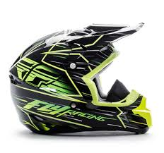 fly motocross helmet fly racing kinetic pro cold weather speed helmet cycle gear
