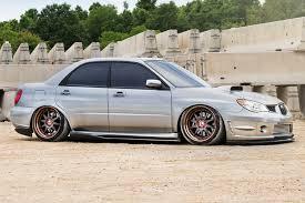 subaru wrx custom paint avant garde f120 wheels custom rims