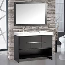 48 Double Sink Bathroom Vanity by Virtu Usa Opal 47