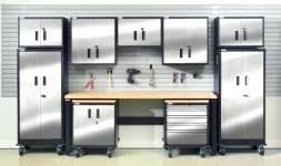 Costco Storage Cabinets Garage by Metal Garage Shelves U2013 Venidami Us