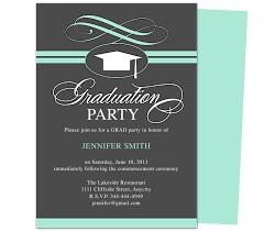 grad party invitations graduation party invitation templates swirl graduation party