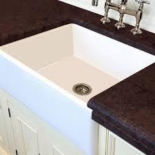 Fireclay Kitchen Sinks by White Italian Fireclay 30 Inch Farmhouse Kitchen Sink Free