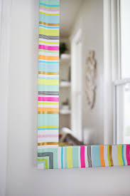 try this washi tape mirror frame u2013 a beautiful mess