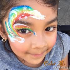 best 25 rainbow face ideas on pinterest rainbow face paint