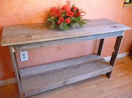 Barn Wood Sofa Table by Antique Distressed Sofa Table Fabulous Home Ideas