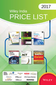 wiley india price list 2017 by wiley india issuu
