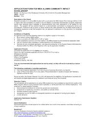 sample scholarship recommendation letter letter idea 2018