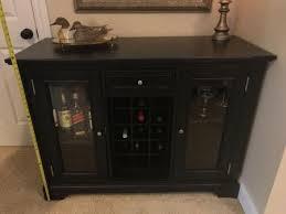 Black Bar Cabinet Black Dry Bar Liquor Cabinet 20 X 4 U0027 Opens To 66