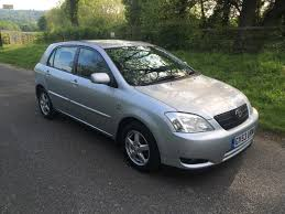2003 used toyota corolla used 2003 toyota corolla t3 vvt i 5dr for sale in caterham surrey