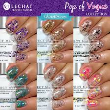 lechat perfect match u2013 chickettes soak off gel polish swatches