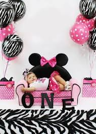 minnie mouse birthday photo session lots super cute ideas