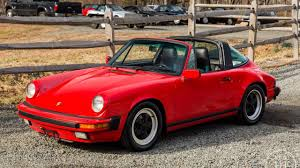 1990 porsche 911 red 1986 porsche 911 targa indischrot red available at www legendcarco