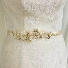 bridal sash bridal belt bridal sash wedding belt chagne bridal belt sash