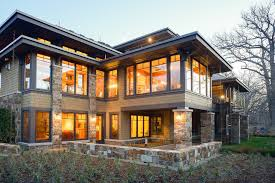 prairie style house prairie style house exterior craftsman with overhanging eaves