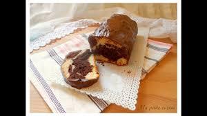 ma ptite cuisine plumcake marmorizzato ricoperto di cioccolato