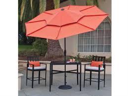 Obravia Treasure Garden Umbrella by Treasure Garden Lotus 10 Foot Crank Lift Collar Tilt Octagon