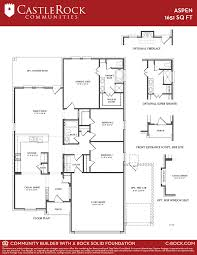 aspen silver home plan by castlerock communities in forest heights