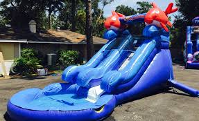 lil kahuna water slide houston tx sky high party rentals