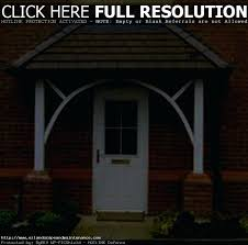 Metal Awnings For Front Doors Glass Canopy Over Front Door Dome Awning Ideas For Concave Metal