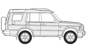 range rover drawing how to draw a land rover discovery как нарисовать land rover