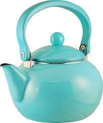 Crate And Barrel Tea Pot by Amazon Com Calypso Basics By Reston Lloyd Enamel On Steel Tea