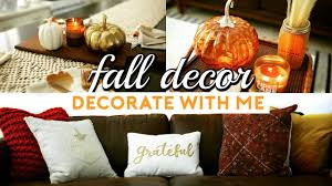 fall home decor haul u0026 how to decorate for autumn 2017 homegoods