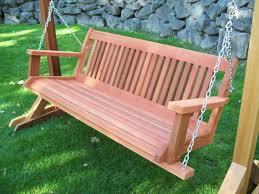 Interesting Composite Outdoor Furniture U2014 Wooden Bench Swing It U0027s Fun Wooden Bench Swing U2013 Wood Furniture