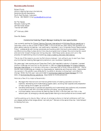 Example Of Business Letter Pdf by 7 Formal Business Letter Format Pdf Financial Statement Form