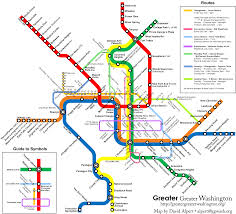 the metro map metro map with circulator routes borderstan