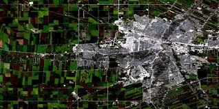 Satellite View Map Winnipeg Mb Free Satellite Image Map 062h14 At 1 50 000