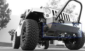 jeep aftermarket bumpers rock 4x4 8482 aluminum patriot series width front