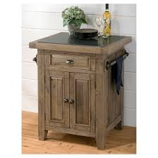 slater mill small kitchen island with granite top wood reclaimed