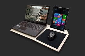 Laptop Lap Desk Reviews Hover X Gamer U0027s Lap Desk The Awesomer