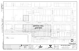 sound transit site plan for seattle u0027s capitol hill light rail