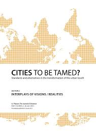 conference proceedings cities to be tamed full papers section 2