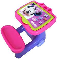 bureau bebe fille d arpèje bureau d activité avec set de coloriage minnie