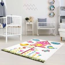 Nursery Area Rugs Moda Kids Blue Rug With Owl Pattern This Gender Neutral Area Rug