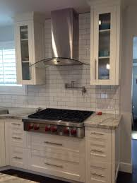 White Shaker Cabinets Kitchen White Shaker Cabinets With Glass Doors And Deep Drawers For Pots