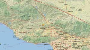 Earthquake Map Los Angeles by 3 3 Magnitude Earthquake Hits Near Valencia Usgs Says Abc7 Com
