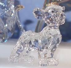 swarovski disney lion king collection simba home decor crystal