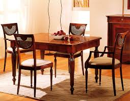sala da pranzo in inglese tavolo e sedie diana esposizione artigiani medesi meda mb
