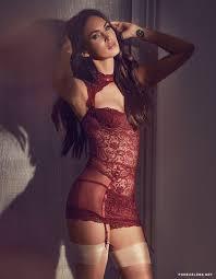 meganfoxnude megan fox looks hot in silk lingerie promote video u2013 purecelebs net