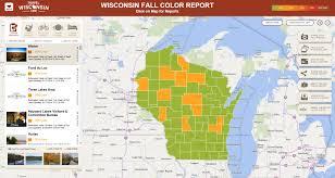 Wisconsin Fall Color Map by Legis Wisconsin Gov Eupdates Asm31