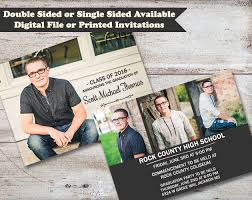 sided graduation announcements sided graduation announcements high school graduate college