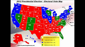 2012 Presidential Election Map by Us Presidential Election 2012 Youtube