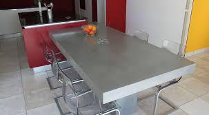 table cuisine design cool table cuisine design beton cire chaise haute extensible de
